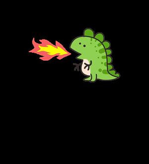 喷火恐龙-绿色
